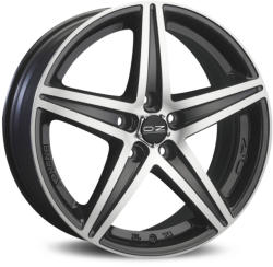 OZ Energy Matt Black Diamond Cut CB57.06 5/100 16x7.5 ET35