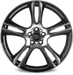 MSW 11 Gloss Black Full Polished CB57.06 4/100 15x7 ET37