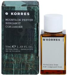 Korres Mountain Pepper (Bergamot/Coriander) EDT 50ml
