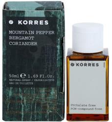 Korres Mountain Pepper (Bergamot/Coriander) EDT 50ml