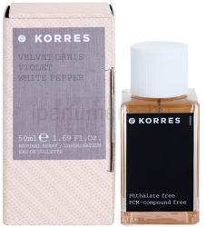 Korres Velvet Orris (Violet/White Pepper) EDT 50ml