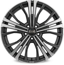 OZ Cortina Matt Dark Graphite Diamond Cut CB72.56 5/120 20x9.5 ET40