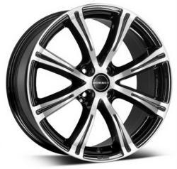 Borbet X8 black polished 4/98 15x7 ET35