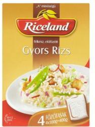Riceland Előfőzött gyors rizs (4x100g)