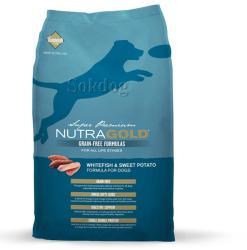 NutraGold Grain Free White Fish & Sweet Potato 13,6kg