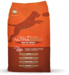 NutraGold Grain Free Turkey & Sweet Potato 2x13,6kg