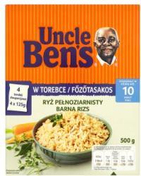 Uncle Ben's Főzőtasakos barna rizs (4x125g)