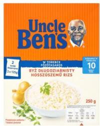 Uncle Ben's Főzőtasakos hosszúszemű rizs (2x125g)