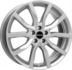 Mak Highlands Silver CB72 5/108 16x6.5 ET45