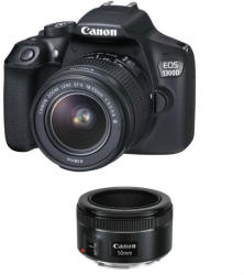Canon EOS 1300D +18-55 mm DC III +50mm