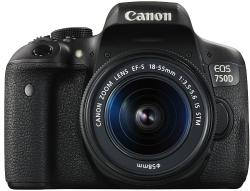 Canon EOS 750D + 18-55mm IS STM + 50mm