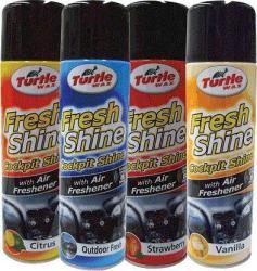 Turtle Wax Fresh Shine műszerfaltisztító Friss levegő illattal (500ml)