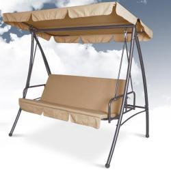 Hollywood - 3 személyes hintaágy ágy funkcióval