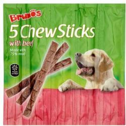 Brunos 5 Chew Sticks marhahúsos rágórudak (5x11g)