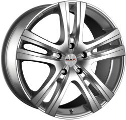 Mak Aria Silver CB66.6 5/112 16x6.5 ET52