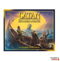Mayfair Games Catan: Explorers & Pirates 5-6 - angol nyelvű