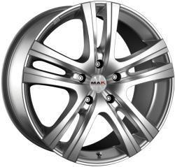 Mak Aria Silver CB65.1 5/160 16x6.5 ET60