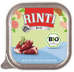 RINTI Bio - Poultry Hearts 22x150g