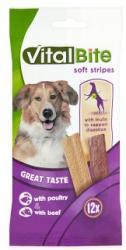 VitalBite Soft Stripes jutalomfalatok baromfival és marhával (120g)