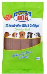 Perfecto Dog Vad- és szárnyashúsos húslapok (200g)