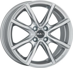 Mak Milano 4 Silver CB72 4/100 17x7 ET40