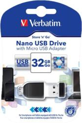 Verbatim Nano 32GB USB 2.0 49822