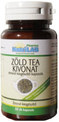 Nutrilab Zöld tea kivonat kapszula - 30 db