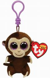 TY Inc Beanie Boos Clip - Coconut, a majom 8,5cm (TY36501)