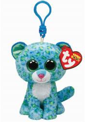 TY Inc Beanie Boos Clip - Leona, a kék leopárd 8,5cm (TY33000)