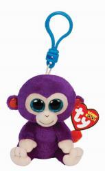 TY Inc Beanie Boos Clip - Grapes, a lila majom 8,5cm (TY36623)