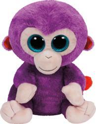 TY Inc Beanie Boos - Grapes, a lila majom 24cm (TY37045)