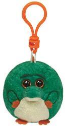 TY Inc Beanie Ballz Clip - Bayou, a krokodil 8,5cm (TY38355)