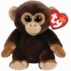 TY Inc Beanie Babies - Bananas, a majom 15cm (TY42111)
