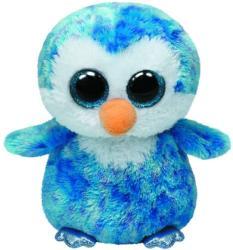 TY Inc Beanie Boos - Ice Cube, a kék pingvin 24cm (TY37044)