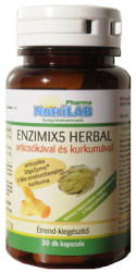Nutrilab Enzimix5 Herbal kapszula - 30 db