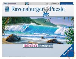 Ravensburger Panoráma Puzzle - Hullámvadászat 1000 db-os (15066)