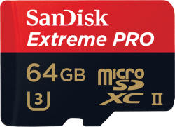 SanDisk microSDXC Extreme Pro 64GB UHS-I SDSQXPJ-064G-GN6M3