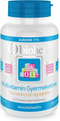 bioheal Multivitamin rágótabletta gyermekeknek - 70 db