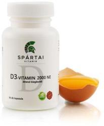 Spártai Vitamin D3-vitamin 2000 NE kapszula - 90 db