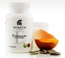 Spártai Vitamin E-vitamin 400 NE kapszula - 60 db