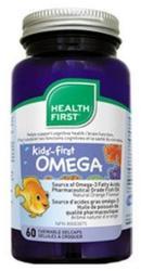 Health First Kids-First Omega-3 rágótabletta - 60 db