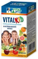 Vitalprof Vitalkid 22 multifrutti kapszula - 30 db