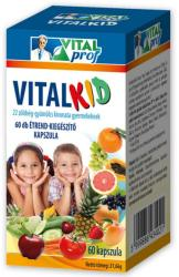 Vitalprof Vitalkid 22 multifrutti kapszula - 60 db