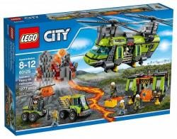 LEGO City - Vulkánkutató teherszállító helikopter (60125)