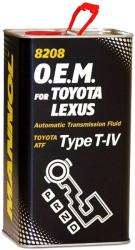 MANNOL 8208-4ME O.E.M. for Toyota/Lexus Type T-IV (4L)