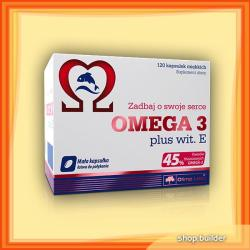 Olimp Sport Nutrition Omega-3 plus E-vitamin kapszula - 120 db