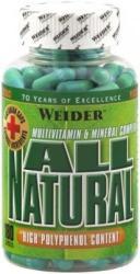 Weider All Natural kapszula - 180 db