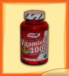 Amix Nutrition Vitamin C 1000mg kapszula - 100 db