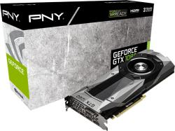 PNY GeForce GTX1080 Founders Edition 8GB GDDR5X 256bit PCIe (GF1080GTX8GEPB)