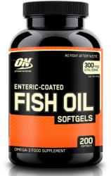 Optimum Nutrition Enteric Coated Fish Oil kapszula - 200 db